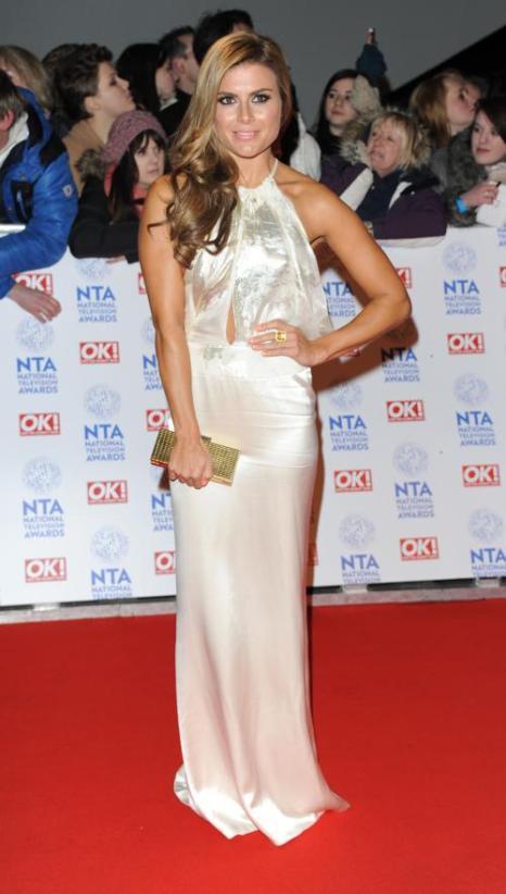 Зоя Хардман (Zoe Hardman) на церемонии вручения премии National Television Awards в Лондоне, 23 января 2013 года. Фото: Stuart Wilson / Getty Images