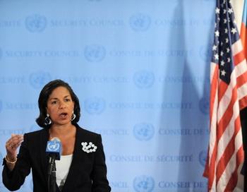 Сьюзан Райс, посол США в ООН. Фото: STAN HONDA/AFP/Getty Images
