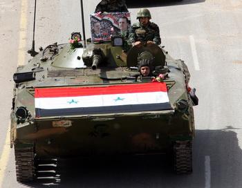 Правительственные войска. Фото: Louai Beshara / AFP / Getty Images
