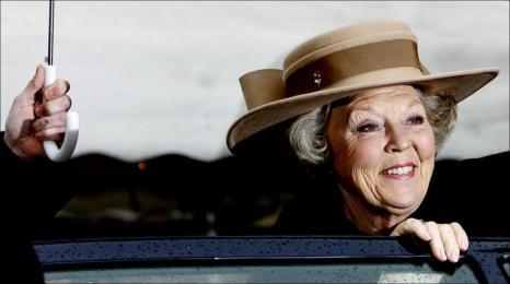 Королева Нидерландов Беатрикс во Флашинге, 23 марта 2006 года. Фото: ROBIN UTRECHT / AFP / Getty Images