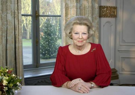 Королева Нидерландов Беатрикс, 25 декабря 2008. Фото: -/AFP/Getty Images