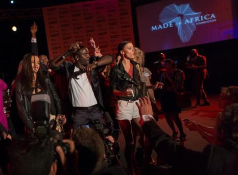 Выступление рэпера Эйкона на вечере «Сделано в Африке». Фото: Didier Baverel/Getty Images for Made in Africa Foundation
