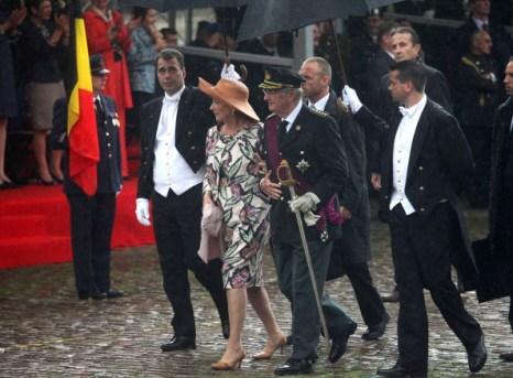 Фоторепортаж о Национальном Дне Бельгии. Фото: Mark Renders/Getty Images