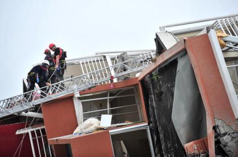 Землятрясение в Чили стало одним из самых мощных в истории. Фото: FELIPE GAMBOA/AFP/Getty Images
