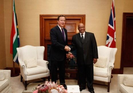 Фоторепортаж о визите премьер-министра Великобритании Дэвида Кэмерона в Южную Африку. Фото:Christopher Furlong - Pool/Getty Images
