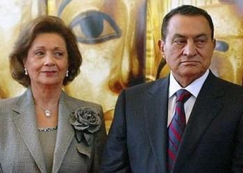Хосни Мубарак с супругой Сюзанной. Фото с ensonhaber.com