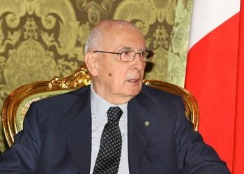 Президент Италии Джорджо Наполитано. Фото РИА Новости
