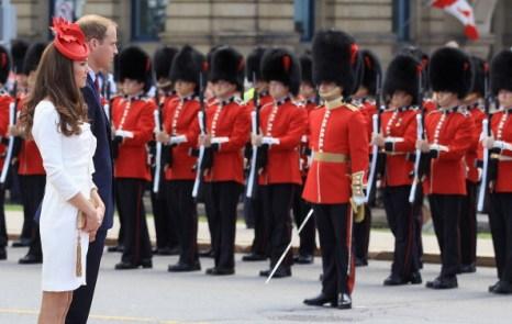 Фоторепортаж о канадском туре герцога и герцогини Кембриджских Уильяма и Кетрин: день второй. Фото: Chris Jackson/Getty Images