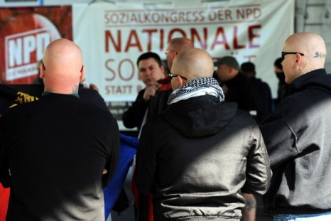 Демонстрация против неонацистов прошла в Бремене. Фото: INGO WAGNER/AFP/Getty Images