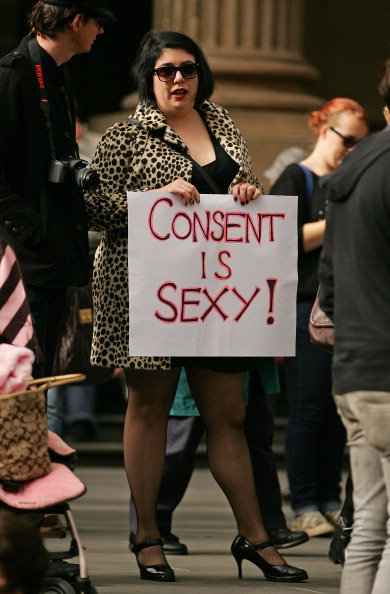Фоторепортаж о протесте женщин Slutwalk в Австралии. Фото: Scott Barbour/Getty Images