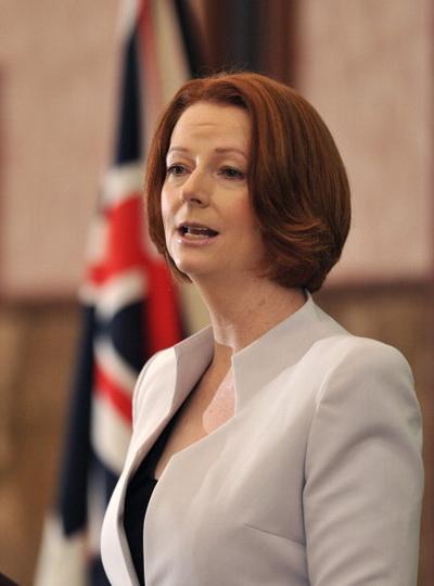 Фоторепортаж. Премьер-министр Австралии Джулия Гиллард. Фото: Getty Images