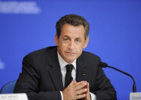 Фоторепортаж. Президент Франции Николя Саркози. Фото: Getty Images
