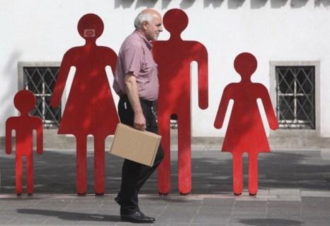 Фоторепортаж о переписи населения в Германии.  Фото: Gareth Fuller - WPA Pool/Getty Images