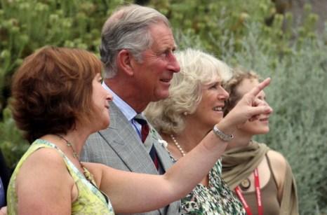 Фоторепортаж о посещение принцем Чарльзом и герцогине Камиллой  «Эдема» в Санкт-Остелл. Фото: Matt Cardy - WPA Pool/Getty Images
