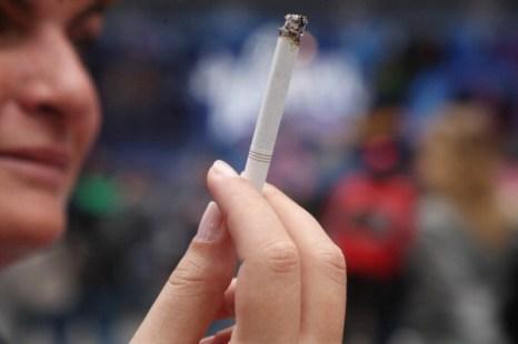 Фоторепортаж о принятии нового закона о запрете на курение в общественных местах в Нью-Йорке. Фото: Daniel Barry/Getty Images