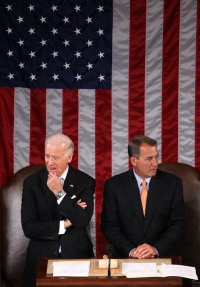 Фоторепортаж о выступлении премьер-министра Израиля Биньямина Нетаньяху на Конгрессе США. Фото: Alex Wong/Getty Images