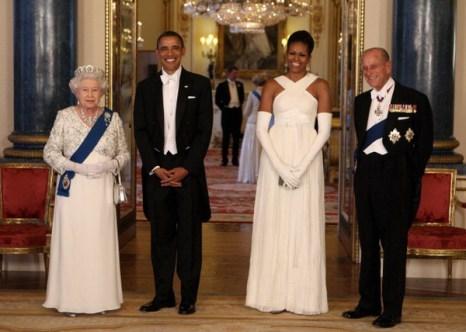 Фоторепортаж о визите президента США Барака Обамы с супругой  в Великобританию. Фото: Lewis Whyld - WPA Pool/Getty Images