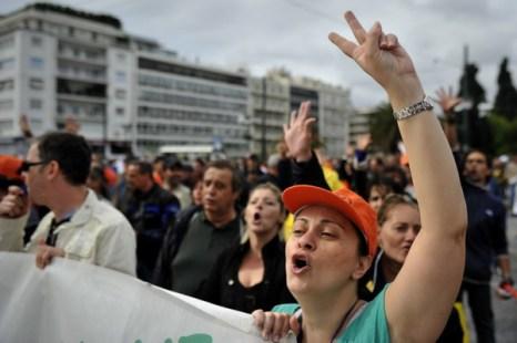 2. Греция будет проводить референдум. Фото: LOUISA GOULIAMAKI/AFP/Getty Images
