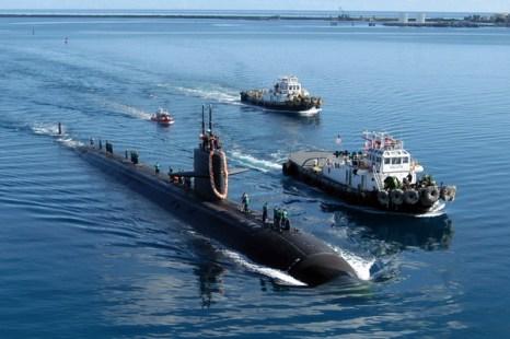 США намерены сократить свою военную мощь. Ядерная подводная лодка США у побережья Сан  Франциско. Фото: Mark A. Leonesio/U.S. Navy via Getty Images