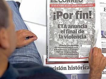 ЕТА объявила о конце своей стратегии террора. Фото: focus.de
