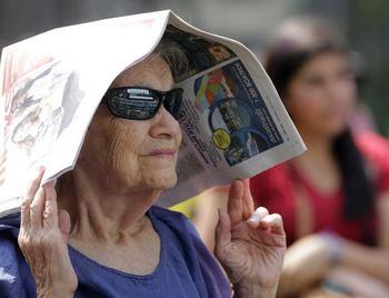 На восточном побережье США жара достигла рекордной отметки. Фото: abc.net.au