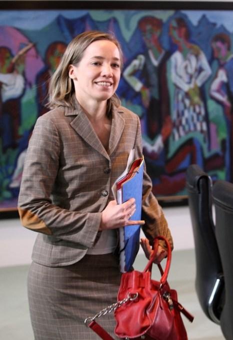 На еженедельном заседании правительственного кабинета Германии 27 февраля 2013 г. в Берлине. Фото: Adam Berry/Getty Images