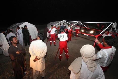 В Пакистане сильнейшее землетрясение унесло жизни 41 человек. Фото: HAMID Sadeghi / AFP / Getty Images