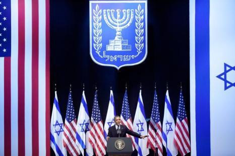 Барак Обама посетил Израиль. Фото: Uriel Sinai/Getty Images