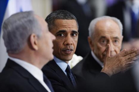 Барак Обама посетил Израиль. Фото: Yin Dongxun-Pool/Getty Images