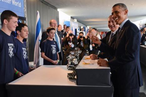 Барак Обама посетил Израиль. Фото: Kobi Gideon/GPO via Getty Images