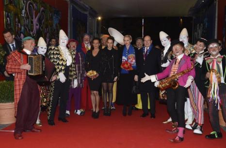 Княжество Монако провело международный фестиваль цирка в Монте-Карло, 22 января 2013 года. Фото: PLS Pool/Getty Images