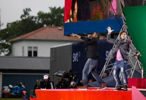 Фоторепортаж о мероприятии по случаю 34-летия принцессы Швеции Виктории. Фото: Christopher Hunt/Getty Images
