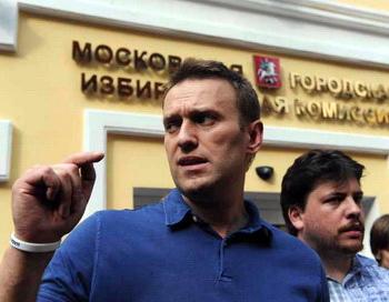 Программа Алексея Навального воплощена в шести законопроектах. Фото: VASILY MAXIMOV/AFP/Getty Images