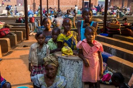 2,3 миллиона детей  пострадали от конфликта в Центральной Африке. Фото: FRED DUFOUR/AFP/Getty Images