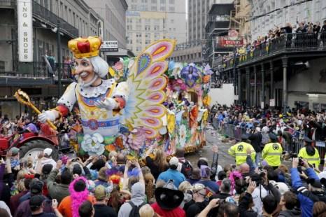 Новый Орлеан. Зимний карнавал. Фото: Rusty Costanza/Getty Images