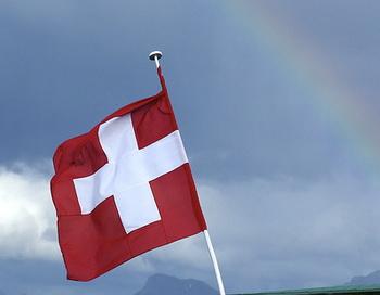 Флаг Швейцарии. Фото: Oyvind Solstad/flickr.com