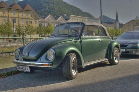 Автомобиль «Фольксваген Битл» с откидным верхом. Фото: morguefile.com