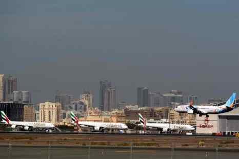 Дубаи. Аэропорт. Фото: KARIM SAHIB/AFP/Getty Images