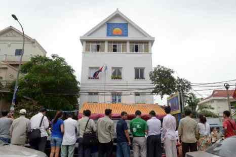 Оппозиция в Камбодже не признала результаты парламентских выборов, утверждая, что миллион голосов в пользу победившей партии был сфальсифицирован. Фото: TANG CHHIN SOTHY/AFP/Getty Images
