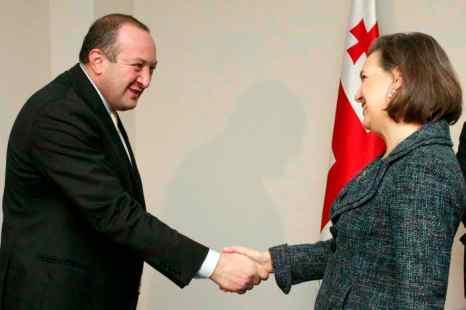 США поддерживают воссоединение Грузии с её бывшими автономиями. Фото: AFP/Getty Images