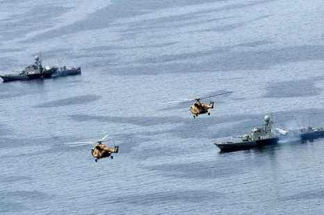 Корабли ВМС Ирана. Фото: AFP/Getty Images