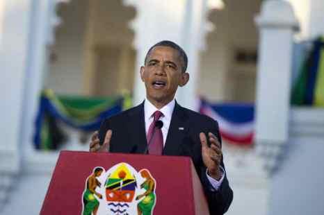 Барак Обама в Танзании. Фото: SAUL LOEB/AFP/Getty Images