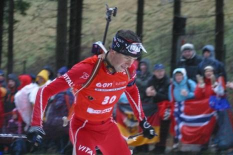 Норвежский биатлонист Уле Эйнар Бьёрндален  —  восьмикратный олимпийский чемпион. Фото: Michael Brammen/ flickr.com