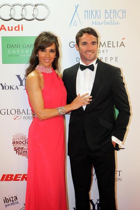 Палома Лаго и Том Эванс на благотворительном ужине Global Gift Gala 2013, который состоялся в отеле Gran Melia Don Pepe Resort 4 августа 2013 года. Фото: Daniel Perez/Getty Images