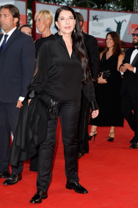 Марина Абрамович посетила открытие юбилейного 70-го Международного кинофестиваля в Венеции 28 августа 2013 года на острове Лидо (Италия). Фото: Pascal Le Segretain/Getty Images