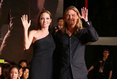 Анджелина Джоли и Брэд Питт. Фото: Ken Ishii/Getty Images for Paramount Pictures