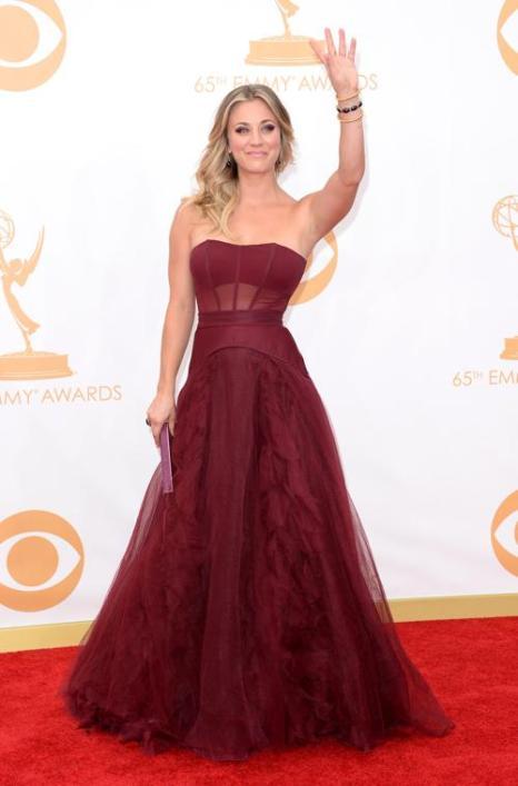 Актриса Кейли Куоко прибыла на 65-ю ежегодную церемонию вручения наград «Эмми», которая состоялась в голливудском театре «Нокиа» 22 сентября 2013 года в Лос-Анджелесе, Калифорния (США). Фото: Jason Merritt/Getty Images