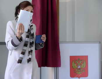 Прямую видеотрансляцию выборов мэра Москвы покажут в Интернете. Фото: KIRILL KUDRYAVTSEV/AFP/Getty Images
