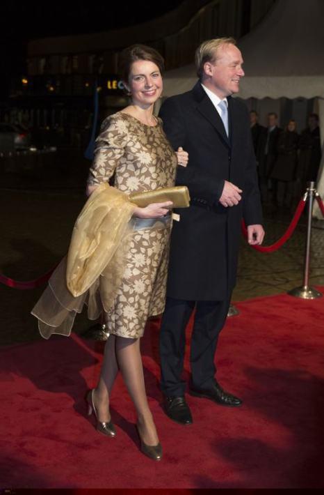 Принцесса Аннемари и принц Карлос де Бурбон де Парме посетили 30 ноября в Гааге торжества по случаю празднования 200-летия Королевства Нидерландов. Фото: Michel Porro/Getty Images