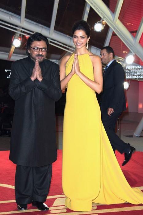 Индийская актриса Дипика Падукон прибыла на 13-й международный кинофестиваль 1 декабря в Марракеше (Марокко). Фото: Dominique Charriau/Getty Images